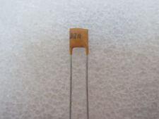 50 condensateurs céramiques 10nF 25V Axial Taiyo Yuden