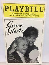 1996 Playbill GRACE & GLORIE by Tom Ziegler ESTELLE PARSONS LUCIE ARNAZ