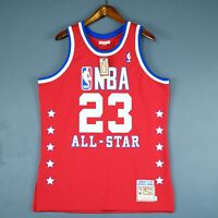 100% Authentic Michael Jordan Mitchell & Ness 89 All Star Jersey Size 44 L Mens