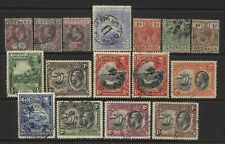 Grenada Collection 16 Early Stamps Used