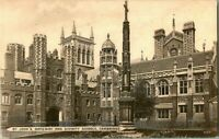 1910 ST. JOHN'S DIVINITY SCHOOLS CAMBRIDGE POSTCARD.