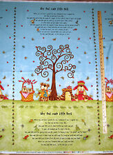 God Gave me You Religious Why God Made Little Boys & Girls Fabric Panel  23