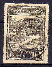 POLOGNE Oflag Camp de Murnau Fischer timbre n° 1bx2C oblitéré