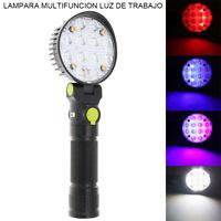 COB LED Work Light Flashlight Folding Torch Lamp Rechargeable Camping Lantern
