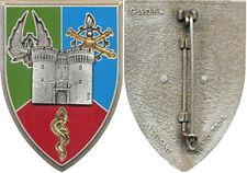 1° Corps d'Armée, Brigade Logistique, écu, caducée gravé, Delsart 3054 (6745)