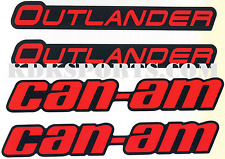 CAN-AM OUTLANDER MUDGUARD DECAL KIT 704904920
