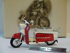 ULTRARAR: IWL Troll 1   1:24 Atlas Verlag DDR Motorrad, NEU, OVP