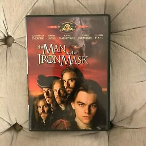The Man in the Iron Mask (DVD, Standard and Letterboxed Canadian Bilingual)
