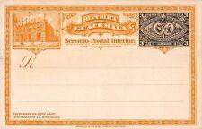B95351 republic de guatemala servicio postal interior