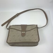 20b110eaa7dc Vintage Christian Dior Brown Dior Monogram Crossbody Handbag Bag Purse  Canvas