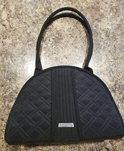 Vera bradley purse black quilted.
