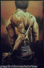 Boris Vallejo 23x35 Serpent Art Poster 1992
