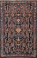 Antique Traditional Geometric Hand-knotted Area Rug Wool Oriental 4x7 Carpet