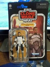 "Star Wars Vintage The Clone Wars Clone Commander Wolffe VC168 ""BRAND NEW"""