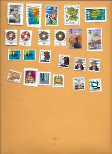 1998 USED STAMPS ON AND OFF PAPER