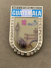 Ultra Rare 2012 Olympics Pin Badge Team Guatemala National Committee NOC