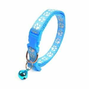 Colorful Cat Collar Cat Necklace With Bell Adjustable Buckle Collar Pet Supplies