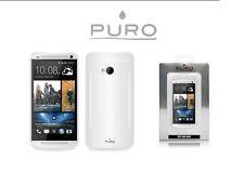 PURO COVER CUSTODIA SILICONE BIANCO ULTRA FLESSIBILE HTC ONE MINI