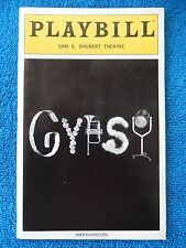 Gypsy - Sam S. Shubert Theatre Playbill - April 2004 - Bernadette Peters