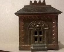Small Antique Crown Cast Iron Bank ******RARE******