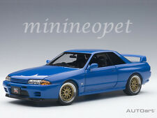 AUTOart 77415 NISSAN SKYLINE GT-R R32 V-SPEC II TUNED VERSION 1/18 BLUE