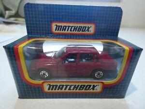 1987 MB-62 Matchbox – Volvo 760 - crimson - MIB