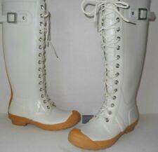 "Hunter Women's ""WATLING"" Lace Up Boots-""RARE"" SZ 7  $104.55 FREE FAST SHIPPING"