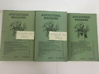 Vintage Avicultural Magazine 1961 to 1962 - The Journal Avicultural Society