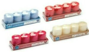 Votive Candles 4 Unique Scents 32 Hours Burn Time Great To Freshen Air Pan Aroma