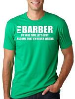 Barber T-shirt Funny barber Tee Shirt Gift for barbershop barber T-shirt