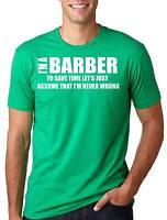 Barber T-shirt Funny barber Tee Shirt Gift for barbershop barber T-shirt