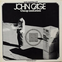 LP 33 John Cage Cheap Imitation Cramps Rec CRSLP 6117 ITALY 1977