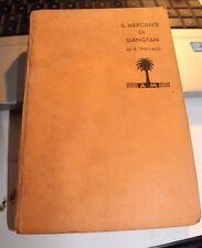 LIBRO IL MERCANTE DI SIANGTAN E. WALLACE MONDADORI 1934