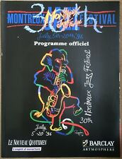 30th Montreux Jazz Festival Programme Deep Purple Isaac Hayes Bo Diddley Santana