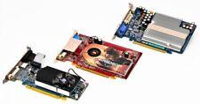 Mixed Lot of 3 AMD/ATI/ASUS HD6570 X1300 EN7300GT PRO Video Graphics Card