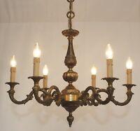 style antique ø73cm pleine lustre luminaire de plafond 6fl. Laiton LED Lumière