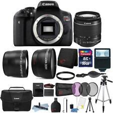 Canon EOS Rebel T6 18MP DSLR Camera w/ 18-55mm Lens , Canon Case & Bundle Kit