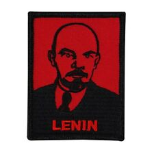 "Soviet Revolutionary ""Lenin"" Portrait Patch Communist Russia Iron-On Applique"