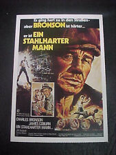 THE STREETFIGHTER, film card (Charles Bronson, James Coburn, Jill Ireland)