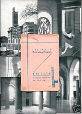 ax 01 - Anni 30 GUGLIELMO OBERDAN - Trieste . Serie di sei cartoline