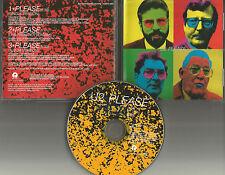 U2 Please 3TRX w/  RARE LIVE TRK & Single Version PROMO DJ CD Single 1997 USA