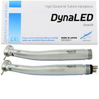 NSK DynaLED Dental LED Self Power High Speed Turbine 8 Spray Handpiece 2 4 Hole