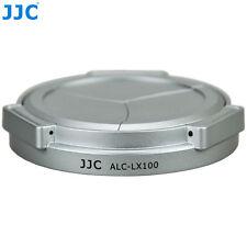 JJC SILVER Auto Lens Cap ALC-LX100 for Panasonic LUMIX DMC-LX100 Camera DMWLFAC1