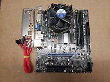 Msi G41M-P25 carte mère bundle, intel quad Q8300 2.50GHz, DDR3 4GB Ref:488