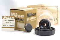 @ Ship in 24 Hours! @ Original Box! @ Nikon El Nikkor 50mm f4 Enlargement Lens