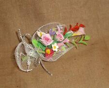 Blumenstrauß, Hochzeitsstrauß, für die Puppenstubenpuppe-1:12-toll