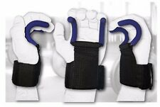 Poids Lifting Gym METAL Crochet Poignées bretelles Gants Wrist Support Ascenseur Repton