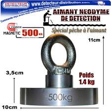 PROMO !!! AIMANT DMD PRO 500 kg Néodyme pour pêche à l'aimant