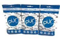 PUR Gum - Peppermint - 165 Pieces - Xylitol - Aspartame & Sugar-Free