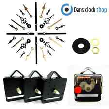 25 Pack Silent Supersweep Quartz Clock Movement Mechanism Motor With Metal Hand